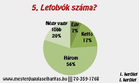 Duguláselhárítás Budapest 1. kerület: Lefolyók száma?
